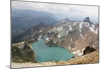 Wa, Alpine Lakes Wilderness, Circle Lake, View from Mount Daniel-Jamie And Judy Wild-Mounted Photographic Print