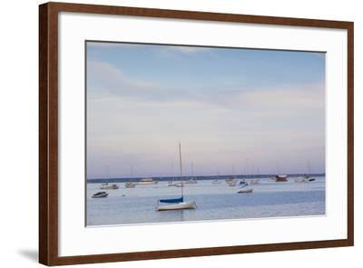 Massachusetts, Cape Cod, Provincetown, the West End, Boats-Walter Bibikow-Framed Photographic Print