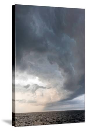 Storm Clouds over the Atlantic Ocean, Massachusetts-Susan Degginger-Stretched Canvas Print
