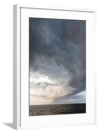 Storm Clouds over the Atlantic Ocean, Massachusetts-Susan Degginger-Framed Photographic Print