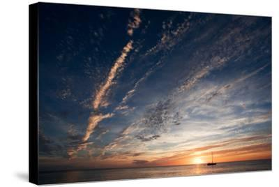 Sunset, St. Lucia, West Indies-Susan Degginger-Stretched Canvas Print