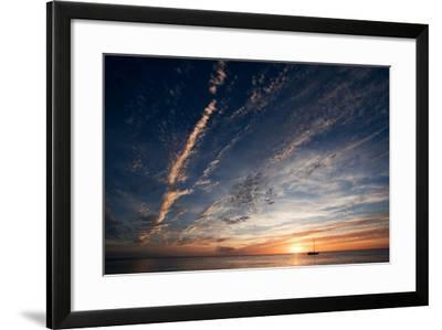 Sunset, St. Lucia, West Indies-Susan Degginger-Framed Photographic Print