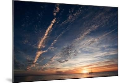 Sunset, St. Lucia, West Indies-Susan Degginger-Mounted Photographic Print
