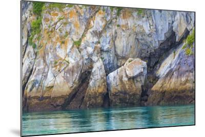 Alaska, Glacier Bay National Park. Cliff Reflects in Seawater-Jaynes Gallery-Mounted Photographic Print