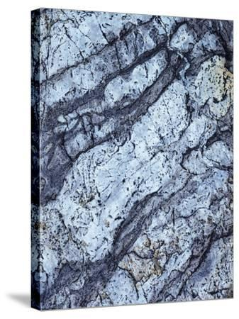 California, Sierra Nevada Mts, Inyo Nf, Patterns of a Rock Formation-Christopher Talbot Frank-Stretched Canvas Print