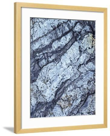 California, Sierra Nevada Mts, Inyo Nf, Patterns of a Rock Formation-Christopher Talbot Frank-Framed Photographic Print