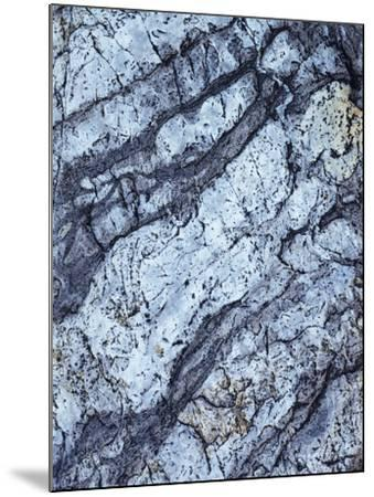 California, Sierra Nevada Mts, Inyo Nf, Patterns of a Rock Formation-Christopher Talbot Frank-Mounted Photographic Print
