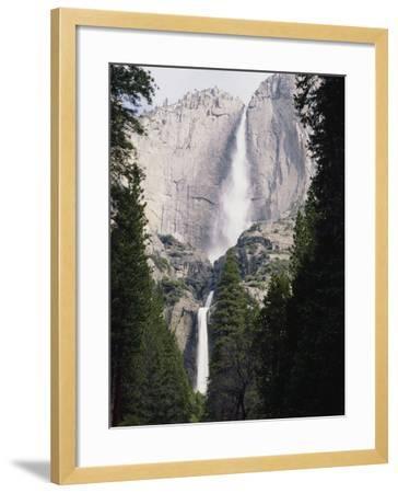 California, Sierra Nevada Mts, Yosemite National Park, Yosemite Falls-Christopher Talbot Frank-Framed Photographic Print