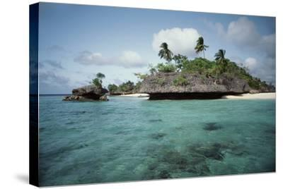Indonesia, View of Indonesian Island-Tony Berg-Stretched Canvas Print