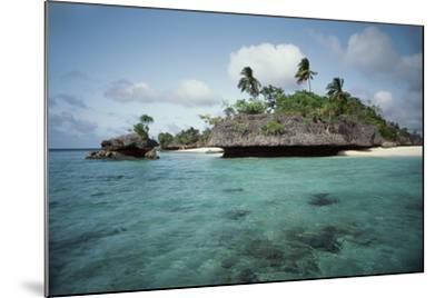 Indonesia, View of Indonesian Island-Tony Berg-Mounted Photographic Print