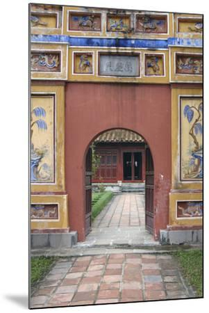 Asia, Vietnam. Arched Entrance Gate, the Citadel, Hue, Thua Thien?Hue-Kevin Oke-Mounted Photographic Print