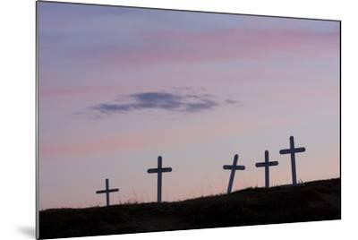 Grave Markers, Seward Peninsula, Alaska-Ken Archer-Mounted Photographic Print