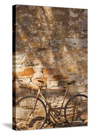 Australia, Clare Valley, Sevenhill, Old Bicycle-Walter Bibikow-Stretched Canvas Print