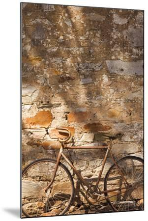 Australia, Clare Valley, Sevenhill, Old Bicycle-Walter Bibikow-Mounted Photographic Print