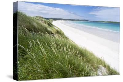 Sandy Beach with Dunes.North Uist Island, Scotland-Martin Zwick-Stretched Canvas Print