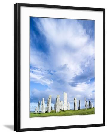 Standing Stones of Callanish, Isle of Lewis, Western Isles, Scotland-Martin Zwick-Framed Photographic Print