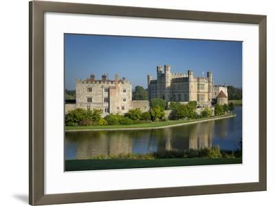 Early Morning at Leeds Castle, Maidstone, Kent, England-Brian Jannsen-Framed Photographic Print