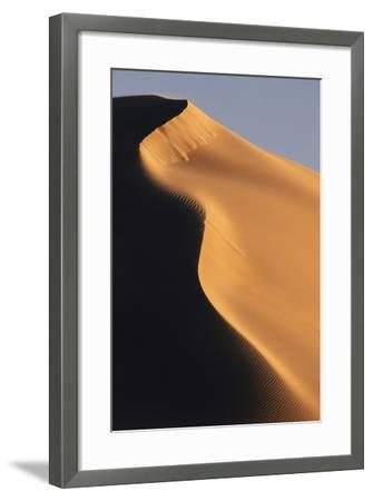 South Africa, De Hoop Nature Reserve, Sand Dunes Against Sky-Paul Souders-Framed Photographic Print