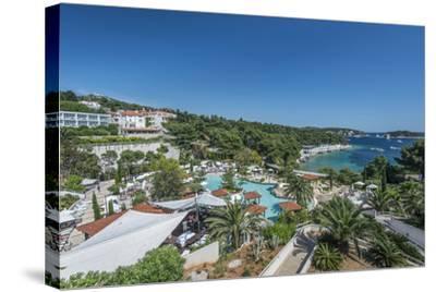 Croatia, Dalmatia, Hvar, Amfora Hvar Grand Beach Resort-Rob Tilley-Stretched Canvas Print
