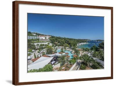Croatia, Dalmatia, Hvar, Amfora Hvar Grand Beach Resort-Rob Tilley-Framed Photographic Print