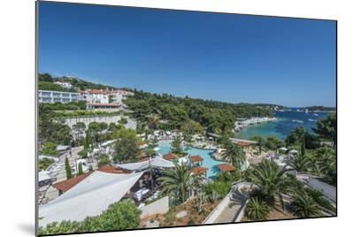 Croatia, Dalmatia, Hvar, Amfora Hvar Grand Beach Resort-Rob Tilley-Mounted Photographic Print