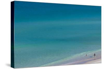 Australia, Fleurieu Peninsula, Port Willunga, Elevated Beach View-Walter Bibikow-Stretched Canvas Print