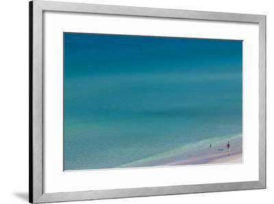 Australia, Fleurieu Peninsula, Port Willunga, Elevated Beach View-Walter Bibikow-Framed Photographic Print