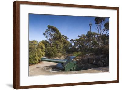 Australia, Albany, Princess Royal Fort, Mt Adelaide, Artillery-Walter Bibikow-Framed Photographic Print