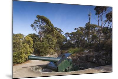 Australia, Albany, Princess Royal Fort, Mt Adelaide, Artillery-Walter Bibikow-Mounted Photographic Print