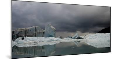 View of Ice Bergs in Resurrection Bay from Bear Glacier in Kenai Fjords National Park, Alaska-Design Pics Inc-Mounted Photographic Print
