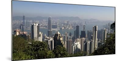 Hong Kong Cityscape; Hong Kong, China-Design Pics Inc-Mounted Photographic Print