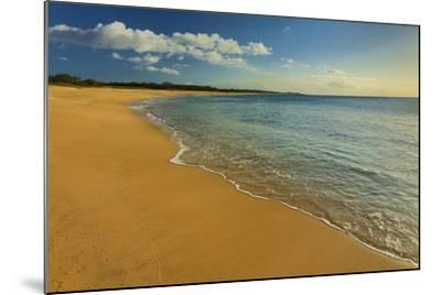 Two Mile Long Papohaku Beach, on the West End of Molokai Island-Richard Cooke-Mounted Photographic Print