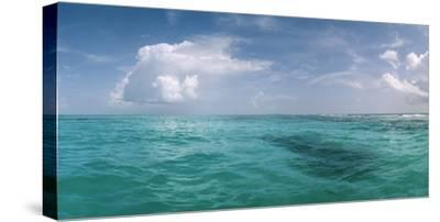 The Waters Off Isla Contoy National Park, Off the Northeast Tip of the Yucatan Peninsula-Macduff Everton-Stretched Canvas Print