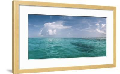 The Waters Off Isla Contoy National Park, Off the Northeast Tip of the Yucatan Peninsula-Macduff Everton-Framed Photographic Print