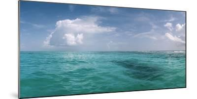 The Waters Off Isla Contoy National Park, Off the Northeast Tip of the Yucatan Peninsula-Macduff Everton-Mounted Photographic Print