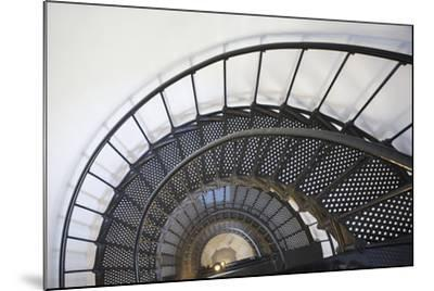 Spiral Stairway in Yaquina Head Lighthouse; Oregon United States of America-Design Pics Inc-Mounted Photographic Print