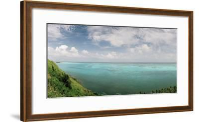 A View from South East Hill on Old Providence Island-Macduff Everton-Framed Photographic Print