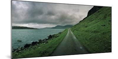 A Single Track Paved Road Along the Edge of Loch Na Keal-Macduff Everton-Mounted Photographic Print