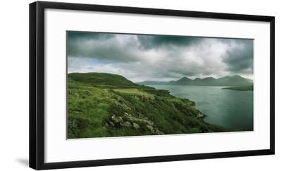 Overlooking a Portion of Loch Na Keal-Macduff Everton-Framed Photographic Print
