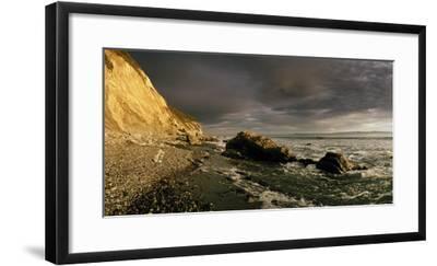 Sunset on Arroyo Burro Beach after a Storm-Macduff Everton-Framed Photographic Print