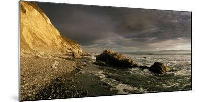 Sunset on Arroyo Burro Beach after a Storm-Macduff Everton-Mounted Photographic Print