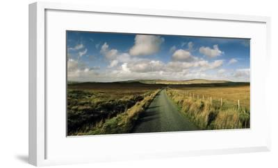 A Road Cuts Through a Scottish Moor Near Dunvegan-Macduff Everton-Framed Photographic Print