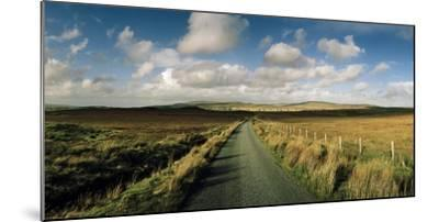 A Road Cuts Through a Scottish Moor Near Dunvegan-Macduff Everton-Mounted Photographic Print