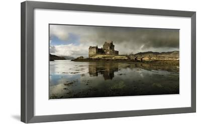 Eilean Donan Castle, Built on a Rocky Promontory at the Meeting Point of Three Sea Lochs-Macduff Everton-Framed Photographic Print
