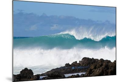 Hawaii, Maui, Laperouse, Beautiful Blue Ocean Wave-Design Pics Inc-Mounted Photographic Print