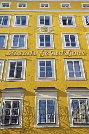 Mozart's Birthplace, Exterior-Design Pics Inc-Framed Photographic Print