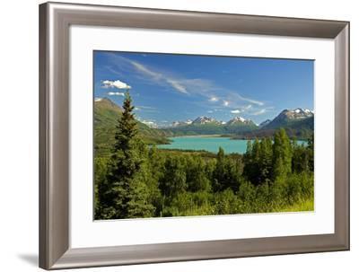 Skilak Lake-Design Pics Inc-Framed Photographic Print