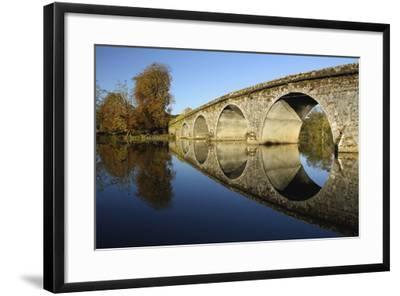 Bridge over River Nore; Bennettsbridge, County Kilkenny, Ireland-Design Pics Inc-Framed Photographic Print
