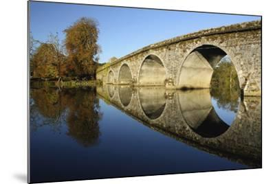 Bridge over River Nore; Bennettsbridge, County Kilkenny, Ireland-Design Pics Inc-Mounted Photographic Print