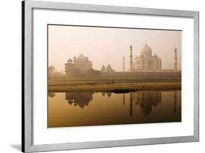 Taj Mahal in Early Morning; Agra, India-Design Pics Inc-Framed Photographic Print